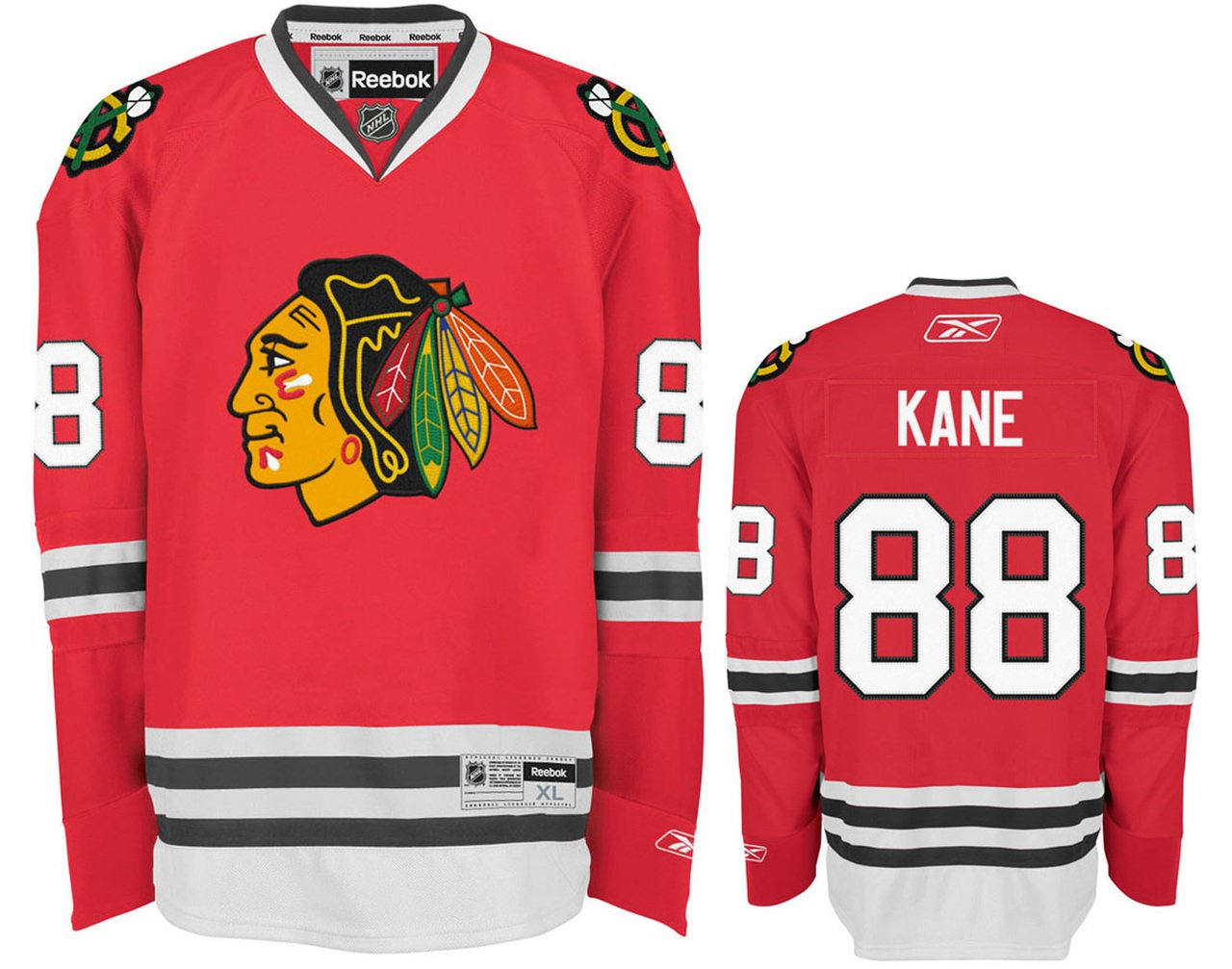 online store dc361 81341 Chicago Blackhawks Patrick Kane Toddler Team Color Replica Ice Hockey  Jersey - Red,