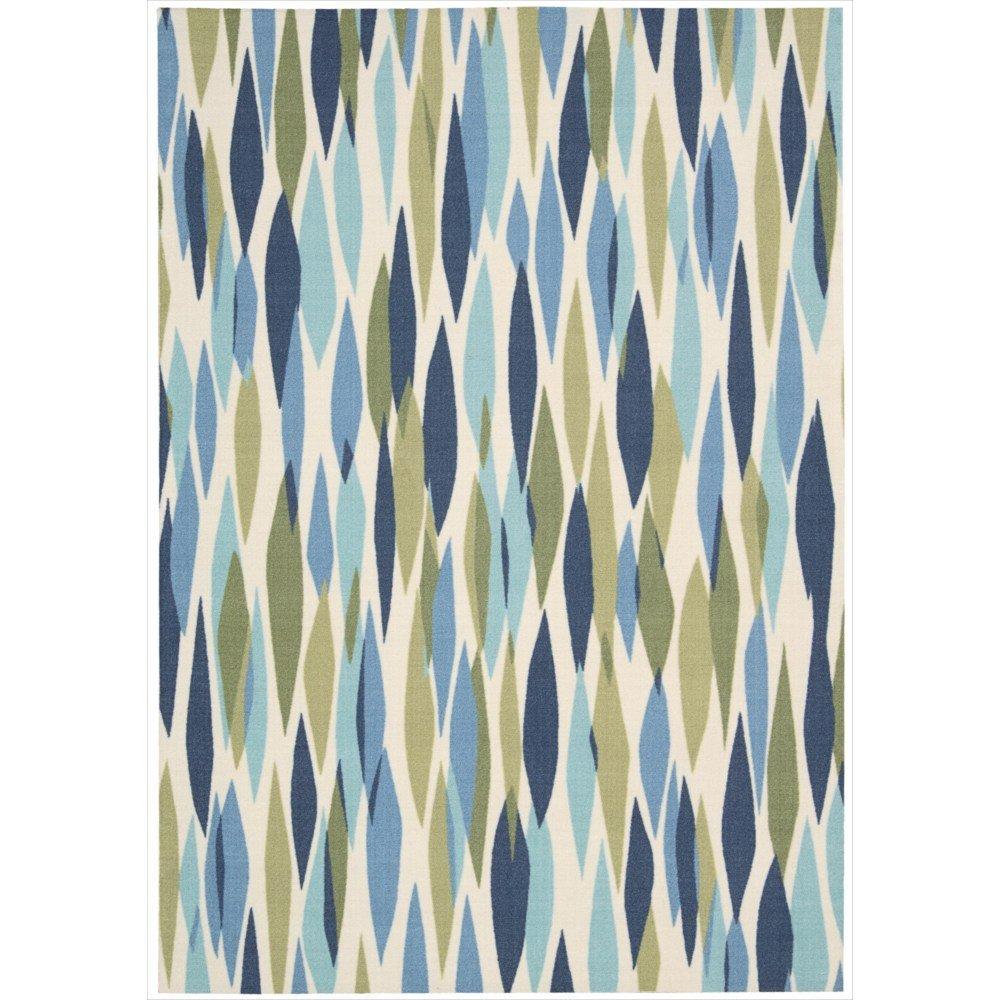 waverly rugs - amazoncom nourison wavsun shade (snd) seagl rectangle