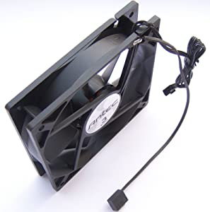 Antec 120mm Tricool 3 Speed Black Case Fan with 3 Pin Fan Connector