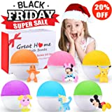 Amazon Price History for:Bath Bombs For Kids Surprise Toy Inside 6 Fun Colorful Fizzy Bath Bombs Great Home Kids Bath Bombs Set Gender Neutral Boys & Girls Best Birthday Christmas Gifting Idea for kids teens