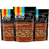 KIND Healthy Grains Clusters, Cinnamon Oat with Flax Seeds, 11-Ounce Bags  (Pack of 3)