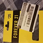 Amazon.com: Forever 21 Gift Card $25: Gift Cards