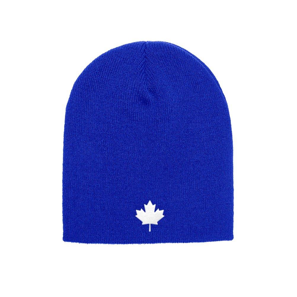 Canada Winter Beanie Canada Flag White Maple Leaf