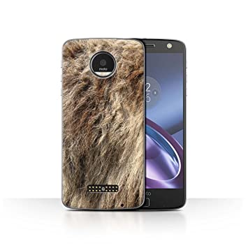 Stuff4® Phone Case/Cover/Skin/Moto-CC/ANIMALFUR Collection Lupo ...