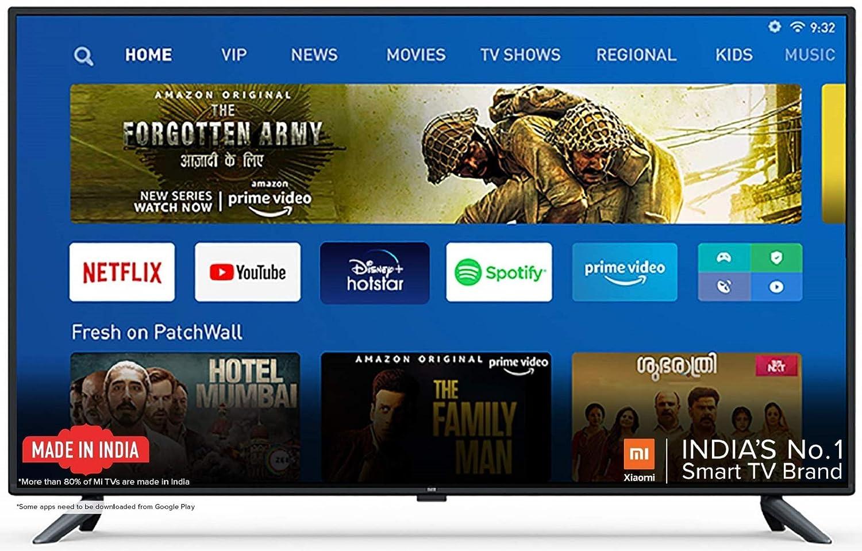 Mi TV 4X 50 inch Smart TV 4K Ultra HD Android LED TV