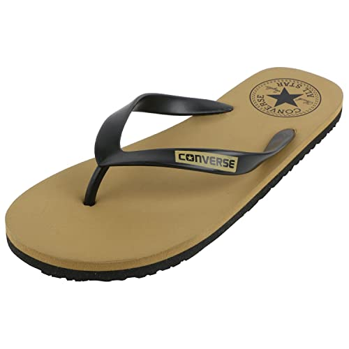 a9a31c2324a73 Converse Men s Black Brown Flip-Flops and House Slippers - 10 UK India