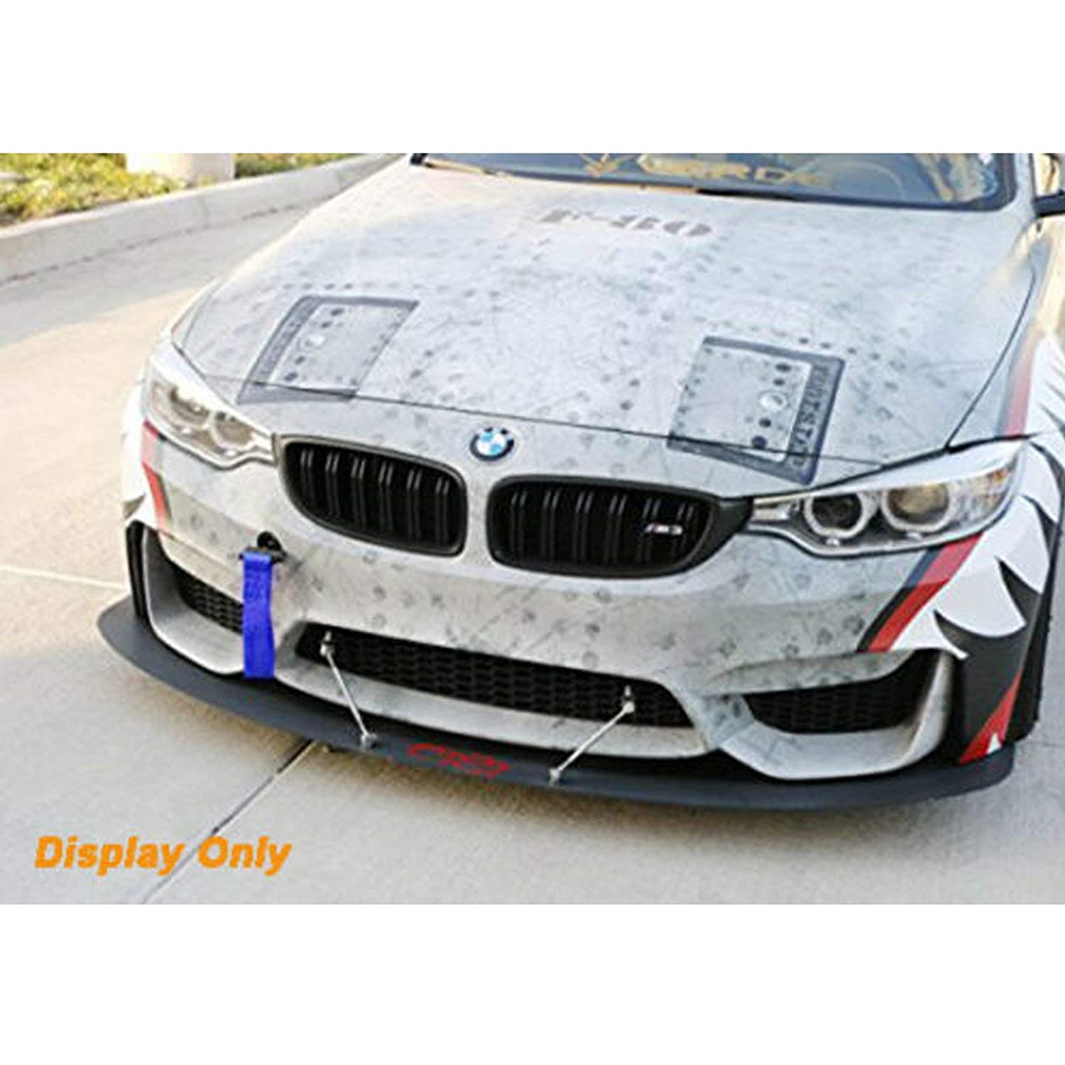 Xotic Tech Blue JDM Racing Sport Tow Hole Rod with Towing Strap for BMW X1 X3 X4 X5 X6 2 3 4 5 Fxx Series 2012+