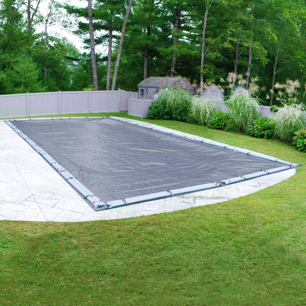 Pool Mate 462040RPM Classic Winter Pool Cover for In-Ground Swimming Pools, 20 x 40-ft. In-Ground Pool by Pool Mate