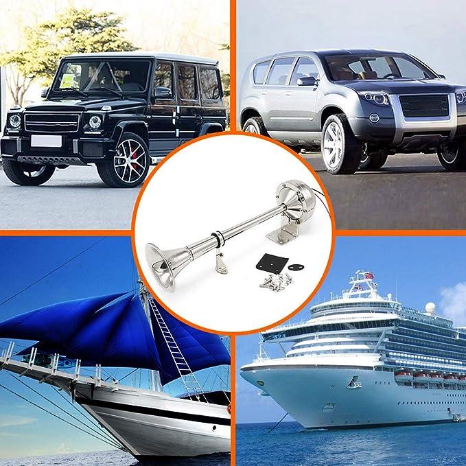 /év/énements sportifs sportifs de voiture de bateau de bruit fort de pompe de klaxon dair de poche Klaxon dair portatif