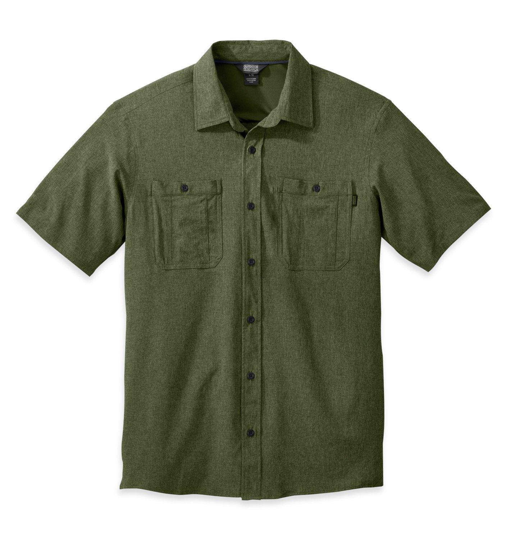 Outdoor Research Men & 039;s Wayward Short Sleeve Shirt