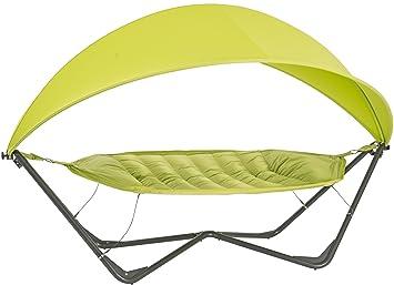 Patio and Garden Gondola Hammock with Frame and Sun Shield Sail UV