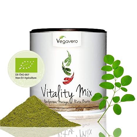 BIO Superfood Vitality Mix Vegavero® | 200 g | Proteína de ...