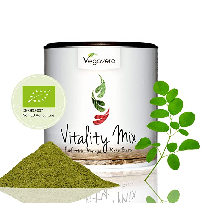 BIO Superfood Vitality Mix Vegavero® | 200 g | Proteína de ...