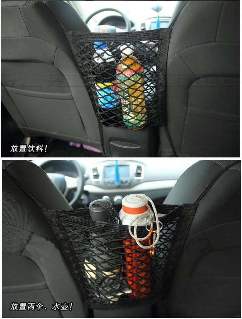 Xuniu Nylon Car Truck Seat Storage Bag Luggage Hooks Hanging Holder 30x40cm