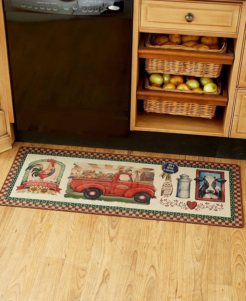 The Lakeside Collection Farm Fresh Rug