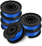 Eventronic Single Line String Trimmer Replacement Spool 0.065-Inch Autofeed Spools, Compatible with Greenworks String…