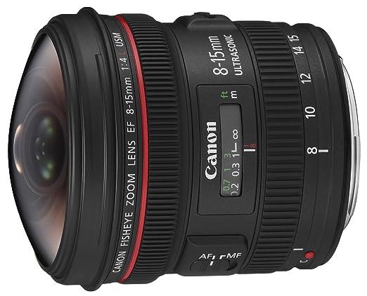 6 opinioni per Canon Obiettivo Grandangolare con Zoom, EF 8-15 mm f/4L Fisheye USM, Nero