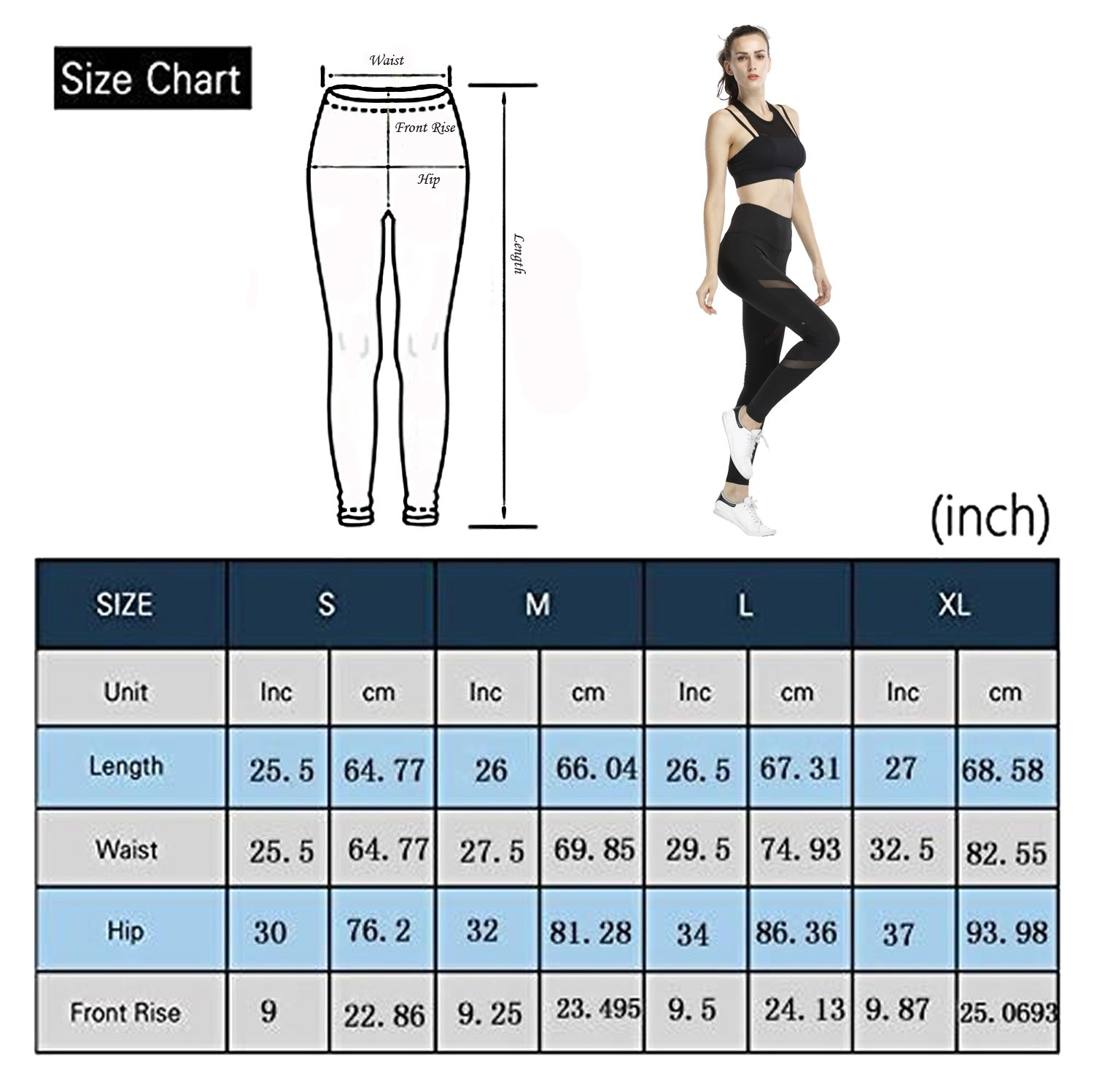 Gymsupply Women\'s Mesh Yoga Capri Pants Workout Running Crop Leggings With Hidden Pocket Y4(Large)