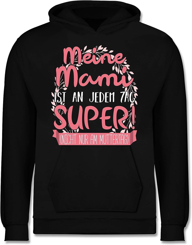 Shirtracer Muttertagsgeschenk Tochter /& Sohn Baby Nicht nur am Muttertag - Baby Body Kurzarm f/ür Jungen und M/ädchen Meine Mami ist an jedem Tag super!