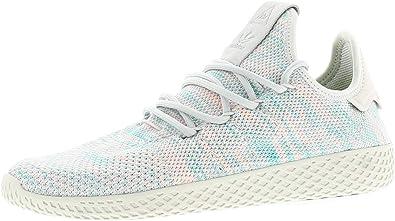 adidas Originals Herren Pharrell Williams Tennis HU Sneakers Schuhe Hellblau