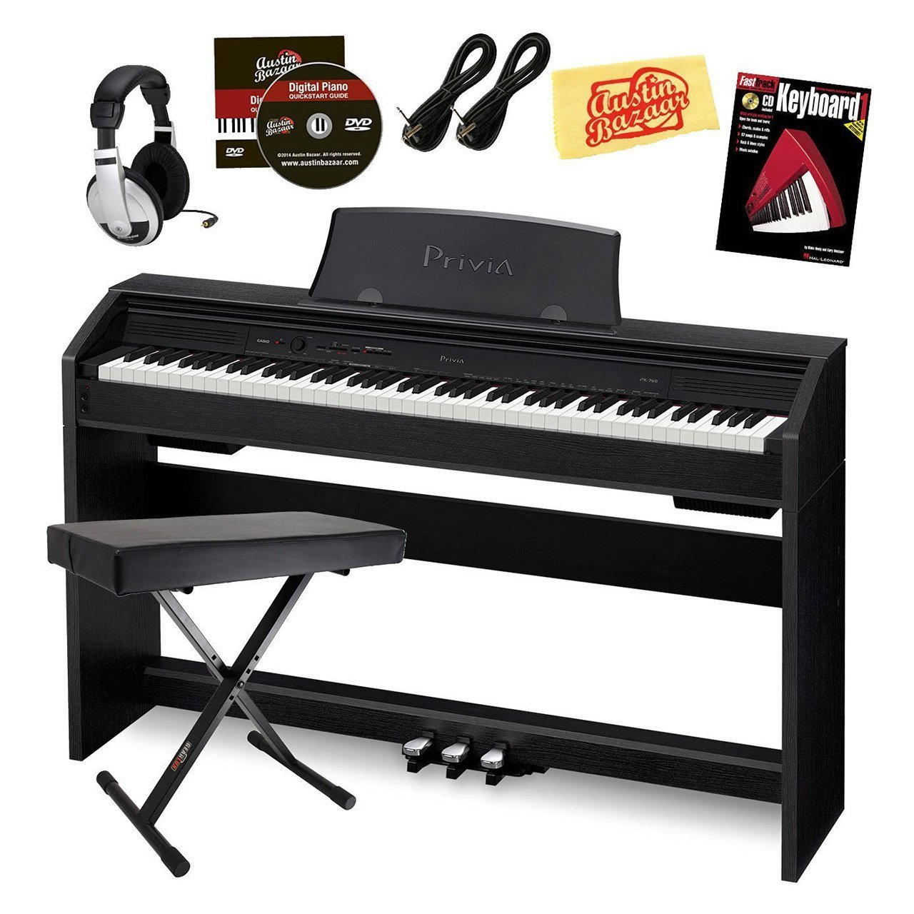 Specs & Features Of Casio PX 760 Privia Digital Piano