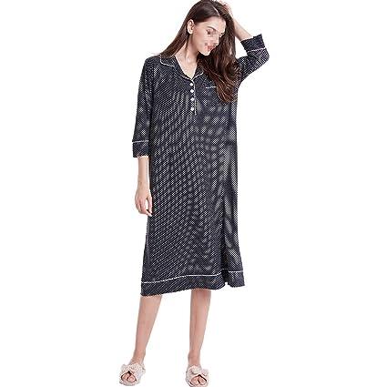 43b4a2c22 AIBAB Las Mujeres Embarazadas Pijamas Falda De Manga Larga De Lactancia  Materna Pijamas Casuales