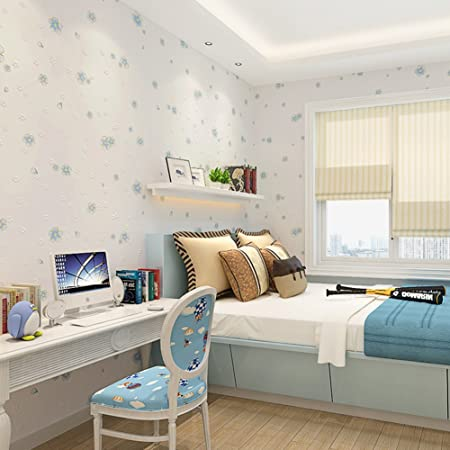 Childrens Room Wallpaper Girls Bedroom Warm Cute Non Woven Garden Wallpapers