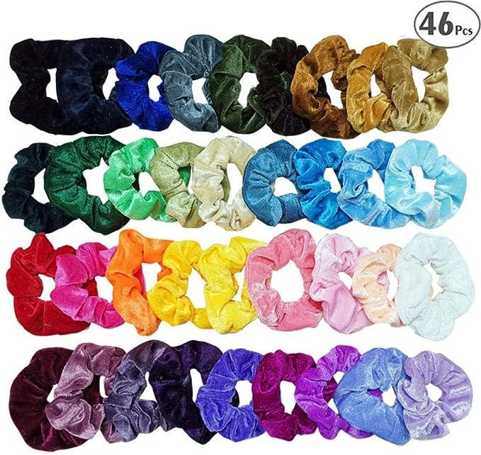 Pañuelos para el pelo, cintas para el pelo, elásticos, de ...