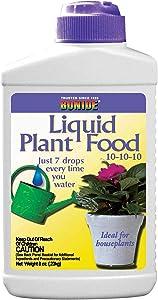 Bonide 108 8 oz 10-10-10 Liquid Houseplant Fertilizer/Food - Quantity 88