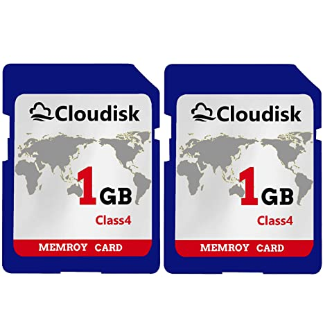Cloudisk 2PACK 1GB SD Card Class4 720P HD Tarjeta de Memoria ...
