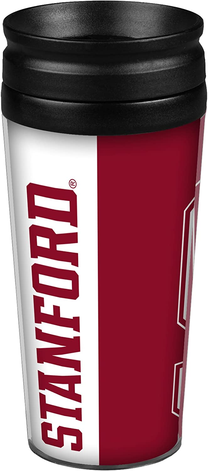 Boelter Brands NCAA Stanford Cardinal Hype Full Wrap Travel Tumbler 14-Ounce