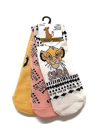 Tinker Bell Shoe Liners Women Disney Hosiery Pack Of 3 Size UK 4-8 Primark