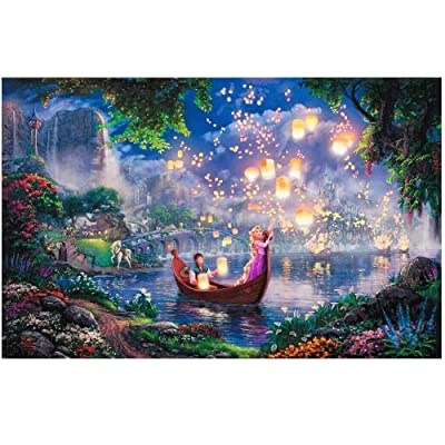 Jqchw Cartoon Puzzle Anime Landscape Oil Painting Princess Jigsaw Puzzle 1000 Pieces Wooden Puzzle Poster Collection Puzzle Adult Decompression Home Puzzle Game Children Educational Toys Gifts: Home & Kitchen