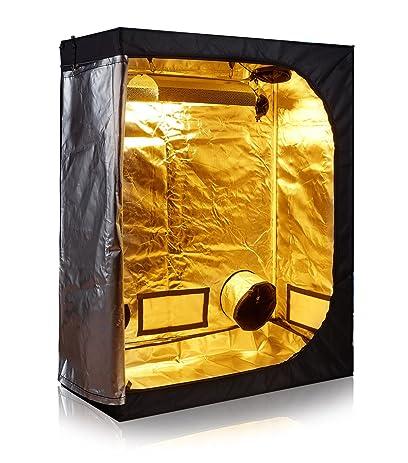 TopoLite 48u0026quot;x24u0026quot;x60u0026quot; 600D Grow Tent Room Reflective Mylar Indoor Garden Growing  sc 1 st  Amazon.com & Amazon.com : TopoLite 48