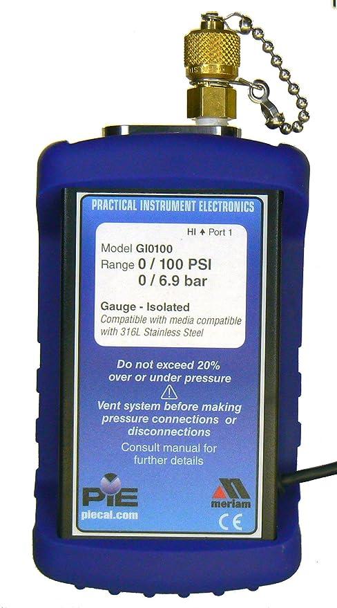 PIE DI0005 Digital Pressure Module, 0-5 PSI/344 7 mbar