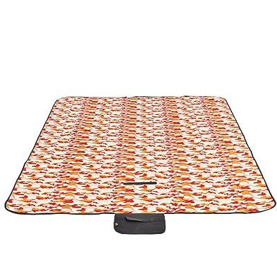 HMWPB Plein Air Couvertures De Pique-nique Imperméable étanche à L'humidité Camping Mat Toison Épaissir Folding Portable Tapis De Picnic Pour Le Parc De La Plage De Randonnée