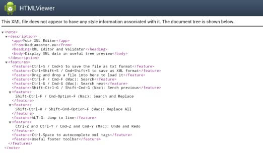 Amazon com: Your XML Editor & Validation: Appstore for Android