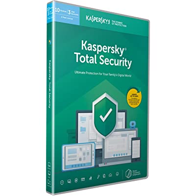 Kaspersky Total Security 2018   10 Devices   1 Year   PC/Mac/Android   Download
