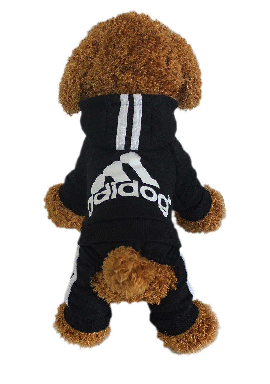 vêtements pour animaux de compagnie pour chien chat chiot Hoodies manteau et hiver Sweatshirt chandail chaud LifeWheel