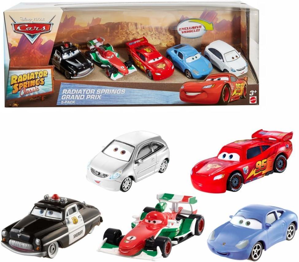 Disney Radiator Springs Cars | 5 Vehículos | Mattel DWW38 | Cast 1 ...