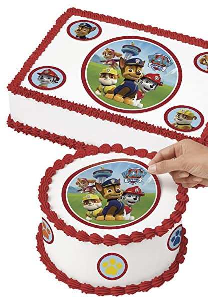 Amazon Wilton 710 7910 PAW Patrol Edible Images Cake Decorating