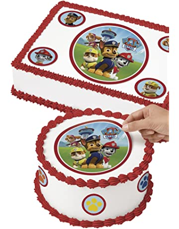 Wilton 710 7910 Paw Patrol Edible Images Cake Decorating Kit Multicolor