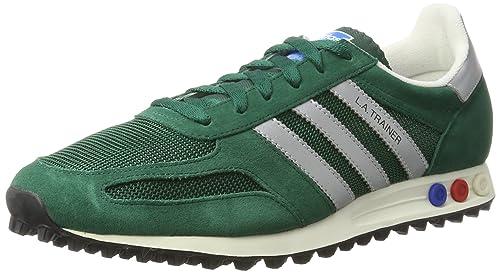 detailed look f6972 91767 adidas Originals la Trainer Og, Scarpe da Ginnastica Basse Uomo, Verde ( Collegiate Green), 49 1 3 EU  Amazon.it  Scarpe e borse