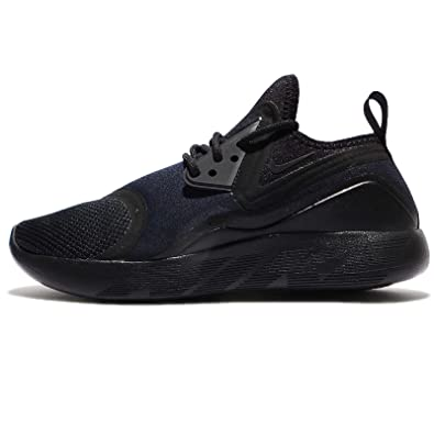 NIKE Mens Lunarcharge Essential BLACk/Dark Obsidian Volt 8 M US