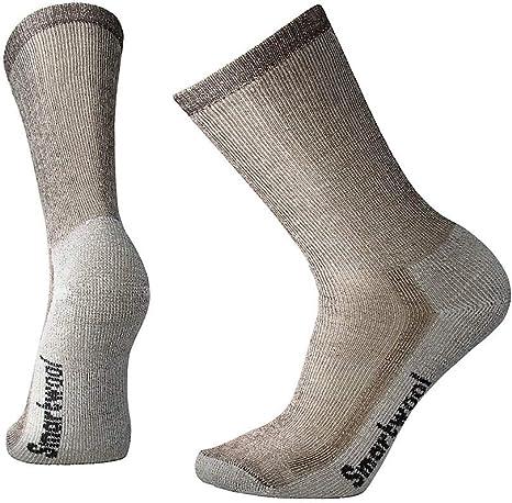 Smartwool Unisexs Hike Ultra Light Crew Performance Socks-Medium Gray Large