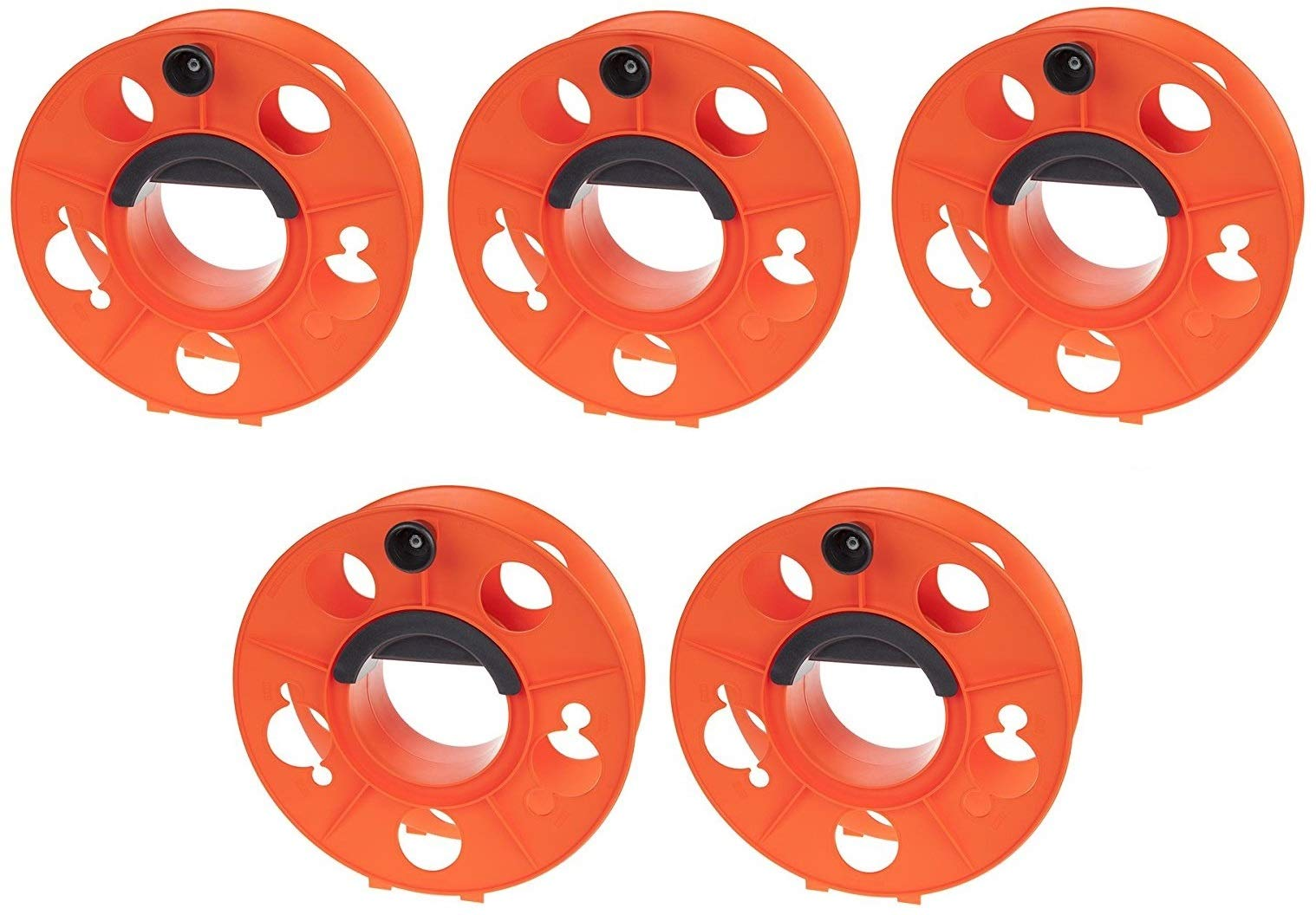 Bayco KW-130 Cord Storage Reel with Center Spin Handle, 150-Feet (5-(Pack))