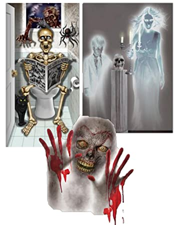 Amazon Halloween Decorations For The Bathroom Including A