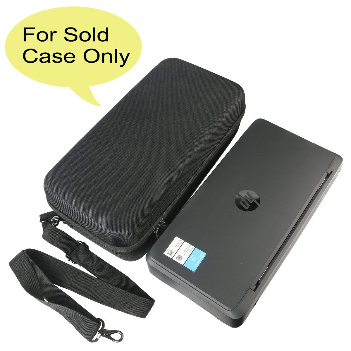 co2crea Hard Travel Case for HP OfficeJet 200 Portable Printer with Wireless Mobile Printing (CZ993A) by Co2Crea (Image #2)