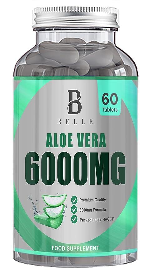 Suplemento Belle Aloe Vera 6000mg - Mejoradores digestivos ...