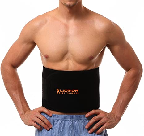 5e884a5a52 Amazon.com  FUYERLI AC-SO-13JU-000077 Waist Trimmer Belt Weight Loss ...